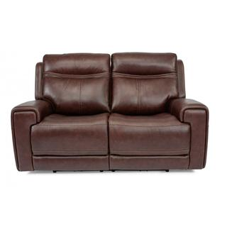 Bravo Power Reclining Loveseat with Power Headrests