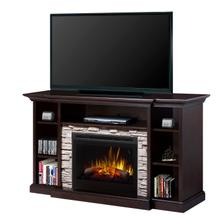 See Details - Courtyard Media Console Electric Fireplace