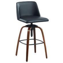 Milo Adjustable Stool, set of 2 in Black