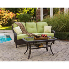 Hanover Orleans 2-Piece Patio Set in Avocado Green, ORLEANS2PC