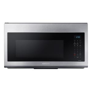 Samsung1.7 cu ft. Smart Over-the-Range Microwave with Convection & Slim Fry™ in Stainless Steel