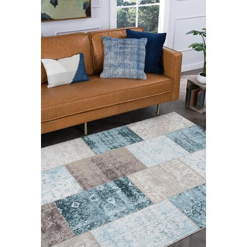 Tayse Rugs - Concept - CNC1001 Multi-Color Rug (Multiple sizes available)