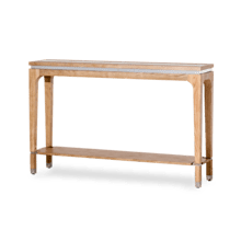 Biscayne West Console Table Sand