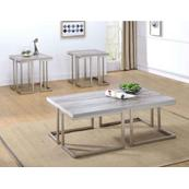 David 3-Piece Set (Cocktail & 2 End Tables)