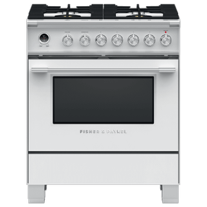 "Dual Fuel Range, 30"", 4 Burners, Self-cleaning Product Image"
