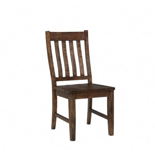 Gallery - Rustic Lodge Slat Back Side Chair