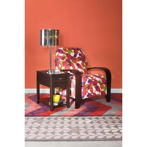 Hammary - DOWNTOWN CHAIRSIDE TABLE-ESPRESSO
