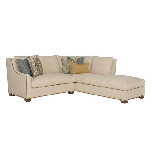 Wesley Hall - Barrett Sectional - Premier Collection