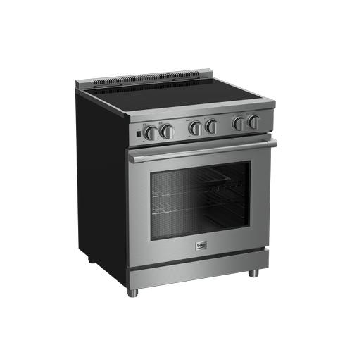 "Beko - 30"" Stainless Steel Pro-Style Induction Range"