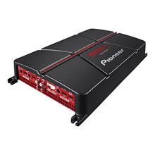 4-Channel - Class B, 1000w Max Power - Bridgeable Amplifier