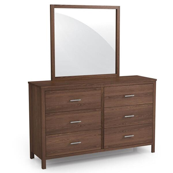 See Details - Sheffield 6-Drawer Dresser