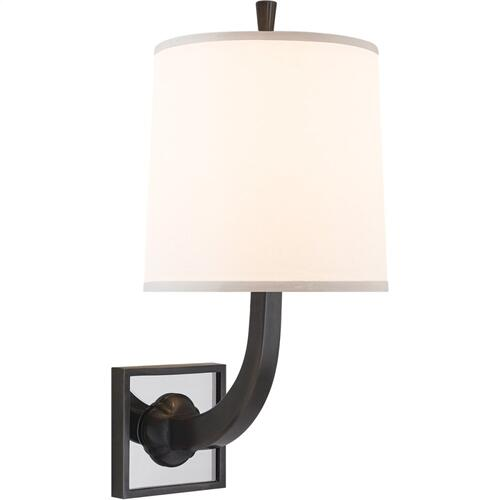 Visual Comfort BBL2025BZ-S Barbara Barry Petal 1 Light 8 inch Bronze Decorative Wall Light