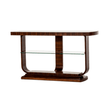 View Product - Cloche Console Table Bourbon