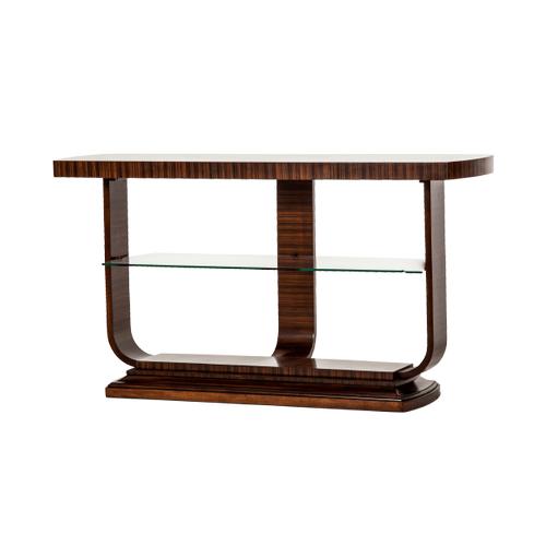 Cloche Console Table Bourbon