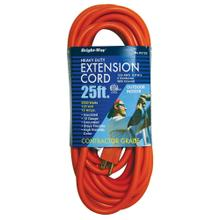 12/3 25 ft. Orange Extension Cord