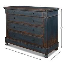 See Details - Blue Waves Commode