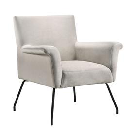 Bukit Mid-Century Modern Accent Chair