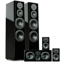 Prime Tower Surround System - Piano Gloss Black