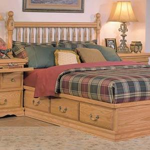 Deluxe Spindle Headboard