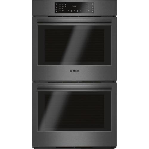 """800 Series Double Wall Oven 30'' Black Stainless Steel HBL8642UC """"OUT OF BOX"""""""