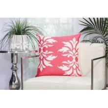 "Outdoor Pillows As065 Hot Pink 20"" X 20"" Throw Pillow"