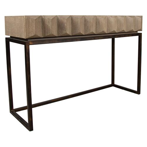 Sofa Table, Available in Modern Grey Finish Only.