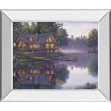 """Cabin Fever"" By Kim Norlien Mirror Framed Print Wall Art"