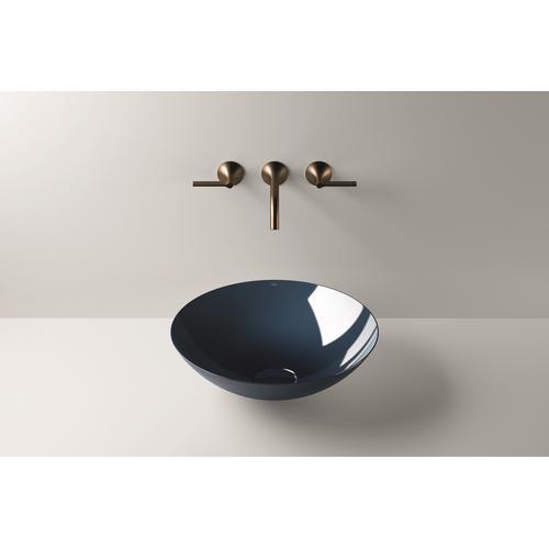Dish basin, SB.Aqua450, deep blue
