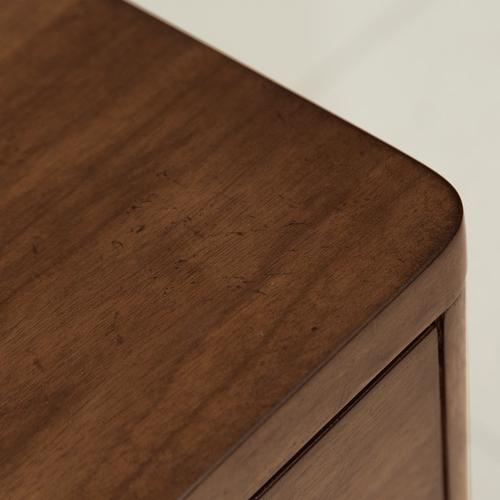 Accentrics Home - Stanley One Drawer Bookshelf Nightstand