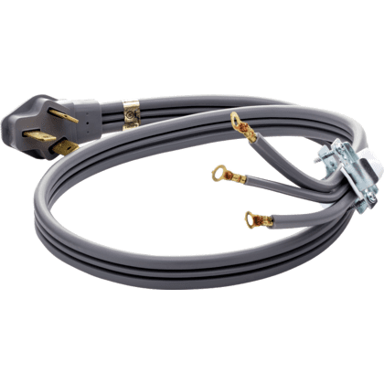 Smart Choice 4' 50-Amp. 3-Prong Range Cord