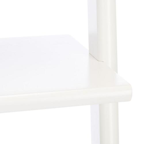 Allaire 5 Tier Leaning Etagere - White