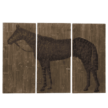 Large Horse Wall Decor (3 pc. set)