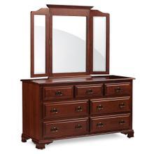 "See Details - Classic 7-Drawer Dresser, 70""w x 21 ""d x 34""h"