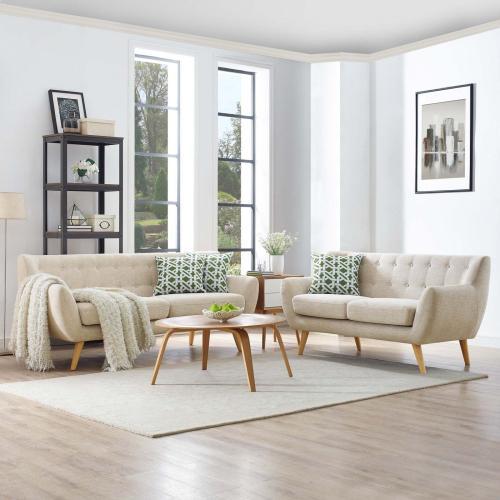 Modway - Remark 2 Piece Living Room Set in Beige