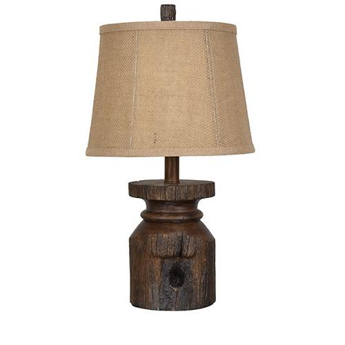 Crestview Collections - Barn Post Accent Lamp