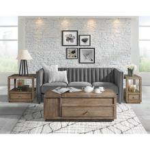 See Details - Denali - Lift-top Coffee Table - Toasted Acacia Finish
