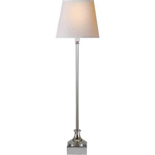 Visual Comfort CHA8315PN-NP E. F. Chapman Cawdor 32 inch 60 watt Polished Nickel Decorative Table Lamp Portable Light