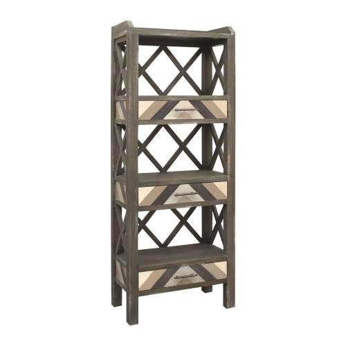Stein World - Leonie Shelving Unit With 3 Drawers
