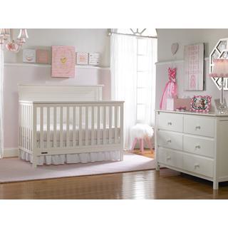 Fisher-Price Lucas Convertible Crib, Snow White