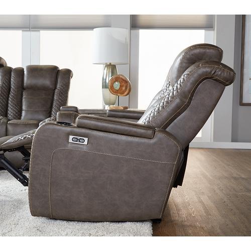 Hughes Furniture - Power Drls Italian Cocoa