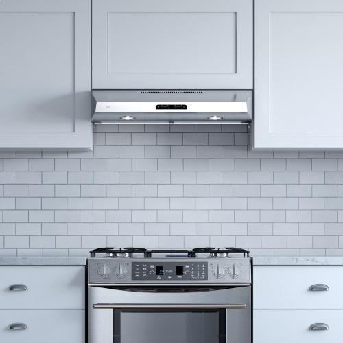 "350 CFM 30"" Under Cabinet Range Hood Black"