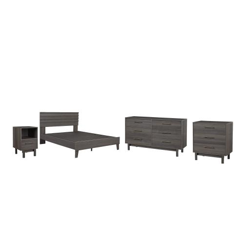 Ashley - Queen Panel Headboard With Dresser, Chest and Nightstand