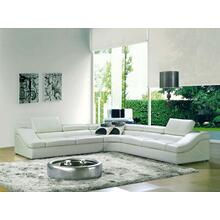 Divani Casa 8002 - Modern Bonded Leather Sectional Sofa
