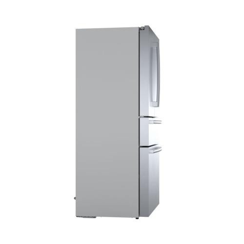 800 Series French Door Bottom Mount 36'' Easy Clean Stainless Steel B36CL80SNS