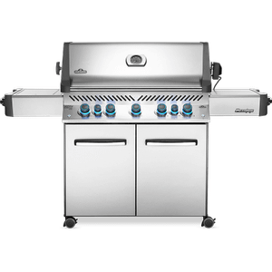 Napoleon BBQPrestige 665 RSIB with Infrared Side and Rear Burners , Stainless Steel , Propane