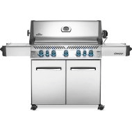 Prestige 665 RSIB with Infrared Side and Rear Burners , Stainless Steel , Propane