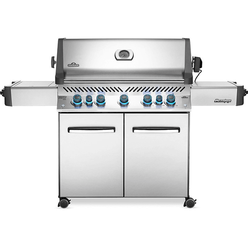 Prestige 665 RSIB with Infrared Side and Rear Burners , Stainless Steel , Natural Gas