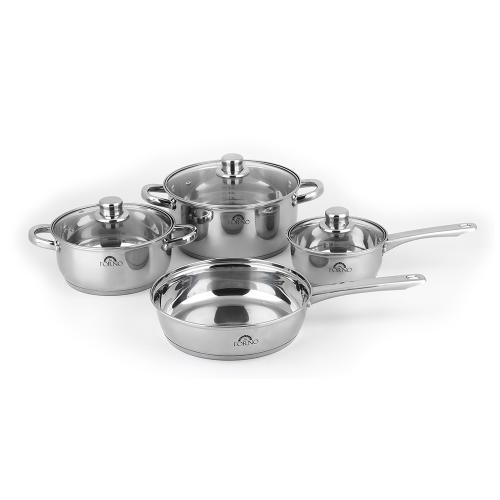 """Forno Canada - FORNO Bezozzo - 30"""" Induction Cooktop with Pan Kit Set, set of 7"""