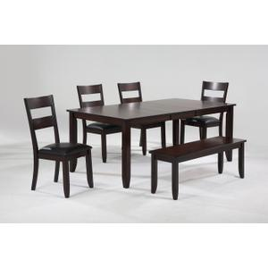 Rectangle Butterfly Table W/butterfly Leaf