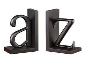 A to Z Bookend Pair Product Image